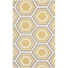 Hand-woven Moroccan Dhurrie Ivory Wool Rug (3' x 5') | Overstock.com