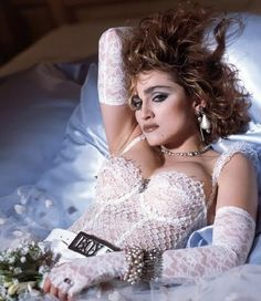"""Madonna in the 80's and 90's -  I grew up with her in the 80""""s..loved her then, love her now"""