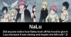 Lucy said smiling brightly at the fire mage. Natsu smiled back at her with his tooth grin. NaLu: A Goodbye? Fairy Tail Meme, Fairy Tail Quotes, Fairy Tail Comics, Fairy Tail Natsu And Lucy, Fairy Tail Art, Fairy Tail Guild, Fairy Tail Ships, Fairy Tail Family, Fairy Tail Couples