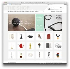 The Cooper Hewitt Museum has a new online shop. You have been warned!