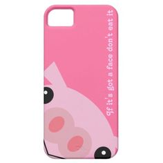 kawaii pig iPhone 5 case add your own name or text $39.95