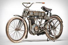 1907 #HarleyDavidson Strap Tank #Motorcycle