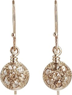 Fabrizio Riva Circular Drop Earrings -  - Barneys.com