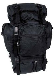 55 L FEKETE HÁTIZSÁK Army Shop, Backpacks, Bags, Outdoor, Fashion, Camino De Santiago, Black, Handbags, Outdoors