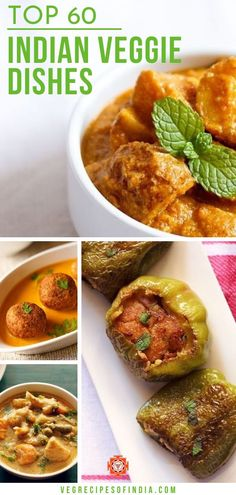 Have you been wondering how to get more vegetables in your diet? Try these easy and healthy Indian vegetarian recipes for dinner tonight! These recipes are packed with vegetables and flavor which is great for a main dish or for a side dish. Indian Vegetarian Dinner Recipes, Mediterranean Vegetarian Recipes, Veg Dinner Recipes, Indian Vegetable Recipes, Vegetarian Recipes For Beginners, Autumn Recipes Vegetarian, Veg Recipes, Healthy Breakfast Recipes, Indian Food Recipes