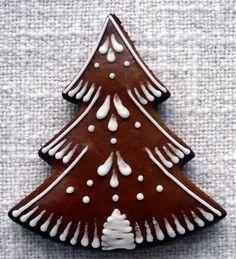 Easy Christmas Cookies Decorating, Xmas Cookies, Cut Out Cookies, Cake Cookies, Cookie Decorating, Christmas Gingerbread, Christmas Treats, Gingerbread Cookies, Christmas Biscuits