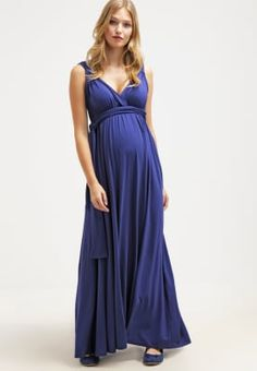 Envie de Fraise ROMAINE - Maxi dress - deep blue for with free delivery at Zalando Bridesmaid Dresses, Prom Dresses, Formal Dresses, Wedding Dresses, Deep Blue, Tops, Fashion, Dress Skirt, Flower Girl Dress
