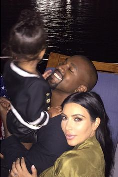 Kim and Kanye share some of the most adorable snaps...