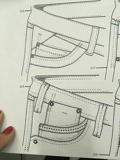 Bolsa pantalon mezclillA Flat Drawings, Flat Sketches, Jeans Drawing, Illustrator, Hipster Jeans, Sewing Jeans, Fashion Templates, Fashion Figures, Denim Trends