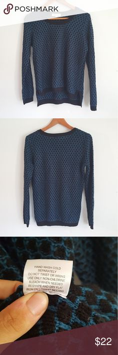 Blue Sweater Dress Royal blue sweater dress only worn once. Cute ...