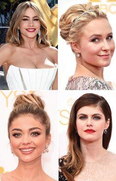 Emmy Awards 2014 #redcarpet #emmy #make #hairinspiration