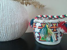 Tiny mochila wayuu. Indigena colombian art