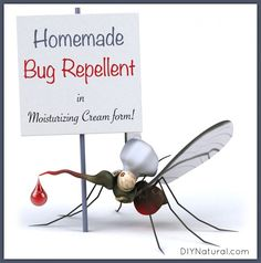 This natural homemade mosquito repellent works for mosquitos, flies & other annoying warm season insects. Apply your DIY mosquito repellent with confidence. Diy Mosquito Repellent, Insect Repellent, Mosquito Spray, Mosquito Cream, Deodorant, Mosquitos, Back To Nature, Helpful Hints, The Balm