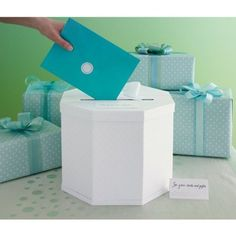 Amazon.com: Martha Stewart Gift Card Box, White Eyelet: Arts, Crafts & Sewing