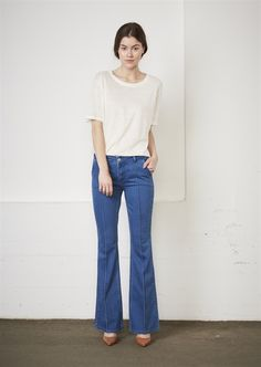 Show details for Stella Trousers  - Bright Blue