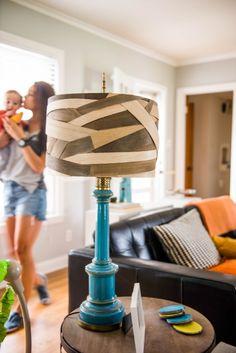 DIY Balsa Wood Lamp Shade #TriplePFeature