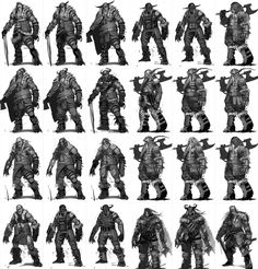 Viking: Battle for Asgard Concept art (Huge download) UPDATED 04-11, pg 5 and 6!