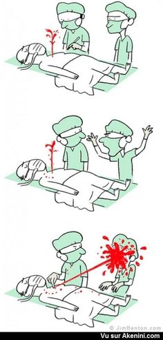 160 Funny Comics By Jim Benton Medical Quotes, Medical Humor, Nurse Humor, Medical Art, Medical School, Am Laufenden Band, Surgery Humor, Operating Room Nurse, Science Humor