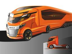 DAF Trucks is looking for a talented digital modeller with excellent sense of form to join the team at the DAF Design Center in Eindhoven, Netherland. Big Rig Trucks, Cool Trucks, Pickup Trucks, Cool Cars, Supercars, Future Trucks, Camper, Truck Art, Truck Design