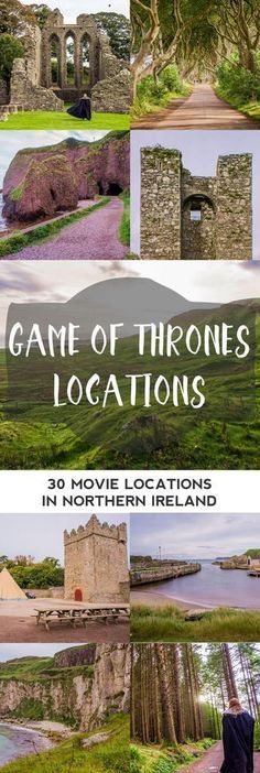 Game of Thrones Shooting Locations in Northern Ireland: A Complete Overview Per Episode! || The Travel Tester #scotlandtravel