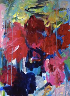 #art #modernart #flowers #painting #FlorenceNerisson #contemporary