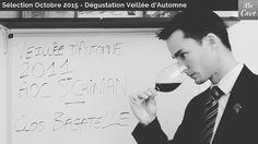 Sélection Découverte Octobre 2015 - Dégustation Veillée d'Automne 2011 - Clos Bagatelle - AOC Saint Chinian #wine #winebox #tasting #video #vin #degustation #languedoc #sommelier #france