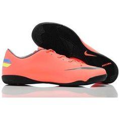 http://www.asneakers4u.com Popular Nike Mercurial Victory III IC Indoor Football Trainers Soccer Cleats pink/black