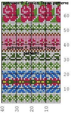 The new Fair Isle knit free charts - Knitting Charts Fair Isle Knitting Patterns, Fair Isle Pattern, Knitting Charts, Knitting Designs, Knitting Stitches, Free Knitting, Loom Knitting, Fair Isle Chart, Crochet Chart
