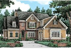 Wynter Park - Home Plans and House Plans by Frank Betz Associates