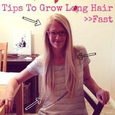 grow long hair fast : radmomcoolkid.com