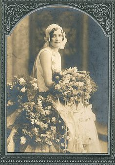 Vintage wedding photo - so pretty