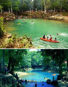 Blue Holes to Infinity Falls: 13 Natural Swimming Pools Mabinay Spring, Negros Oriental, Philippines