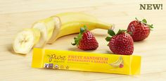 Pure Bar | Shop for Pure Bar | Triple-layered, dual-flavored soft and chewy fruit bar creating a creamy and rich taste that melts in your mouth. Pure Fruit products are made from real fruit purees and juices without using artificial sweeteners, flavors, or preservatives. It is the perfect way to add a little Pure to your day. 3/4 Serving of Fruit Made in a Peanut-Free Facility Certified Organic, Non-GMO Verified , Gluten-Free and Vegan