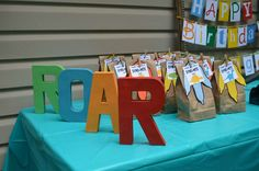 Dinosaurs Birthday Party Ideas | Photo 8 of 17 | Catch My Party