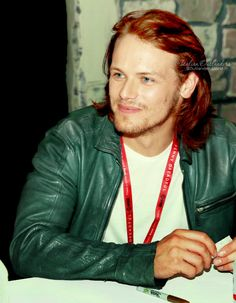 """italianoutlanders: """"Don't forget to vote for SamHeughan,our favourite ginger! """""""