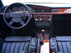 Dashboard AMG 190 E 3.2 (W201) '1992–93 Mercedes Benz Maybach, Mercedes 190, Classic Mercedes, Best Car Interior, Car Interior Sketch, Mercedes Interior, Benz Smart, Mercedez Benz, Benz S Class