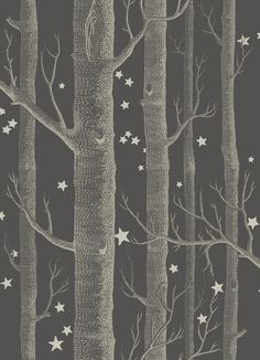 Woods and Stars Whimsical wallpaper. Brand: Cole and Son Collection: Whimsical