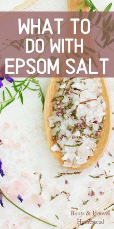 What to do with Epsom Salt. Here are 20 amazing uses for around the home, garden, and even some neat natural beauty ideas. #EpsomSaltCleanse Vegan Kitchen, Kitchen Recipes, Homemade Beauty Products, Natural Cleaning Products, Epsom Salt Cleanse, Epsom Salt Uses, Back To Nature, Healthy Mind, Natural Living