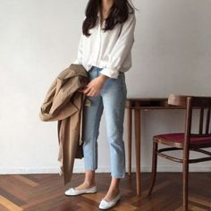 secrets for the minimalist fashion summer Casual Minimal Chic Simple . - secrets for the minimalist fashion summer Casual Minimal Chic Simple 4 – Wear Like This – - Look Fashion, Daily Fashion, Trendy Fashion, Trendy Style, Womens Fashion, Korean Fashion Summer Casual, Casual Fall, Simple Style, Simply Fashion