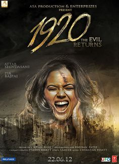 Free Movie Download: 1920 Evil Returns (2012) Movie DVD Rip Video Free