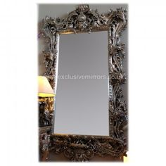 Extra Large Silver Wall Mirror 150 x 250cm