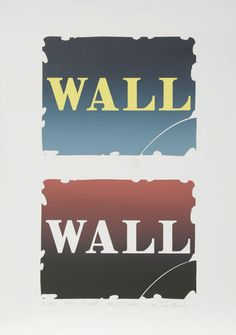 """Two Stone III"", 1990, ""Wall"" series"
