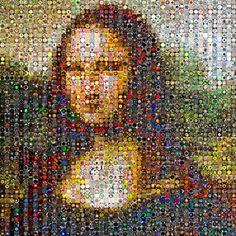 Monalisa photo mosaic