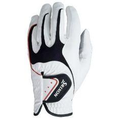 Srixon Men's All Weather Glove (Left Hand Glove for Right Handed Golfer) - White, Medium