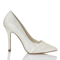 Zapato de novia de Menbur (ref. 5662) Bridal shoes by Menbur (ref. 5662)