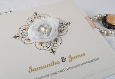 Upscale Wedding Invitations | : The Wedding Invitation Boutique – Luxury Bespoke Handmade Wedding ...