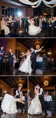 Dirty Dancing choreographed first dance! Stunningly executed and amazed the wedding guests. | KMH Photography | Green Valley Ranch Wedding | Las Vegas Wedding Photographer