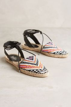 Belle by Sigerson Morrison Maie Espadrilles - anthropologie.com #anthroregistry