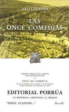 Aristófanes. Las Once Comedias.