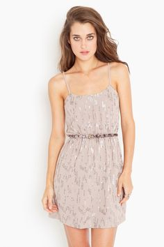 $40.60 Scattered Sequin Dress